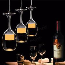 Modern Wine Glasses by Modern Led Wine Glass Ceiling Light Chandelier Lamp Fixture