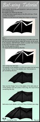 bat wing tutorial halloween pinterest bat wings bats and