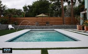 modern pool with deck jets all aqua pools