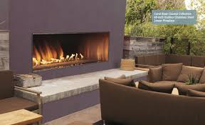 Vent Free Lp Gas Fireplace by Outdoor Linear Vent Free Fireplace
