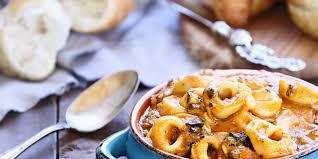 Italian Soup by Italian Sausage And Tortellini Soup Recipe Epicurious Com