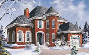 turret house plans house plan of the week grand manor features drummond house