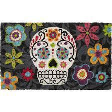 Sugar Skull Bathroom Sugar Skull Doormat Pier 1 Imports Rugs U0026 Flooring Pinterest
