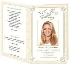 funeral memorial programs free memorial templates funeral memorial program templates free