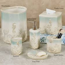 themed soap dispenser pearl seaweed ombre themed bath accessories