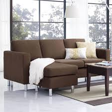 furniture u0026 sofa perfect small spaces configurable sectional sofa