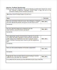 induction evaluation form template beautifuel me
