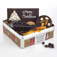 christmas gift sets chocolate christmas gifts with a message
