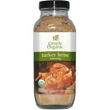 simply organic turkey brine seasoning 14 1 oz 400 g iherb