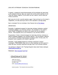 vet receptionist sample cover letter resumes letters info resume