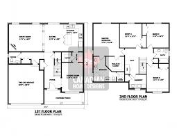 two house blueprints storey house designs floor plans house plans 64742