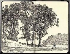 ian sidaway fine line ink ideas pinterest sketchbooks