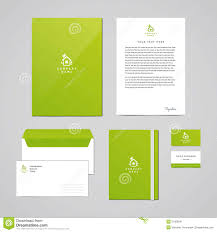 Business Letter Envelope by Corporate Identity Eco Design Template Documentation For Business
