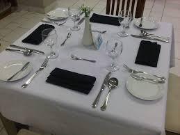 fine dining table setting loversiq