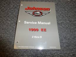1999 johnson 2 2 3 3 3 4 5 6 8 hp outboard motor repair service