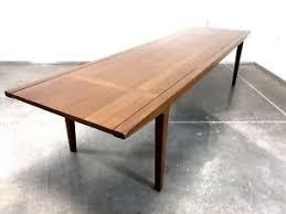 vintage mid century modern coffee table mid century modern coffee table 6 feet long walnut mcm vintage ebay