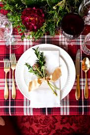 christmas christmas table setting spirit past kitchen pinterest
