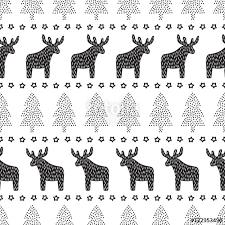 black and white christmas wallpaper christmas seamless pattern black and white christmas background