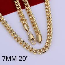 aliexpress buy new arrival 18k real gold plated thick sideways style hiphop chains necklaces gold color