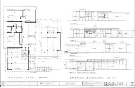 eichler home plans floor plans curiously different