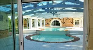 Chambre D Hote Piscine Int Ieure Villa Contemporaine Style Californienne Avec Piscine Intérieure à 1