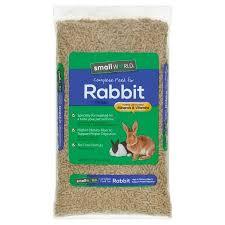 rabbit food small world complete rabbit feed 10 lb walmart