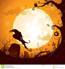 free downloads halloween pictures halloween crow on the graveyard royalty free stock photography