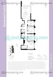 boulevard central tower 2 floor plans justproperty com