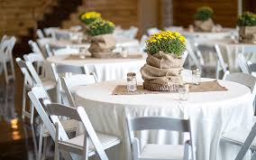 renting chairs for a wedding party and wedding rentals in denton and