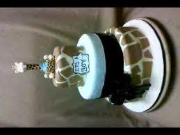 Baby Shower Giraffe Cake Youtube