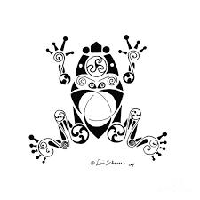 awesome tribal ornate frog design tattooimages biz