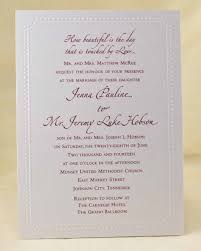 wedding invitations johnson city tn wedding invitation r 167 emp