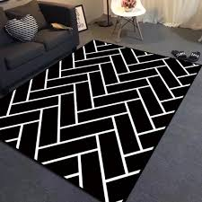 Checkered Area Rug Black And White by Black And White Plaid Area Rug Creative Rugs Decoration
