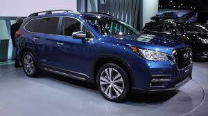 subaru dark blue subaru tribeca review