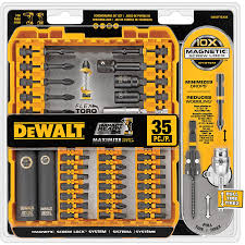 home depot black friday router bit set shop dewalt 35 piece flextorq impact driver bit set at lowes com