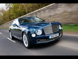 2010 Bentley Mulsanne Blue Front Angle Speed 2 1920x1440