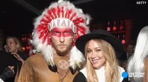 Distasteful Halloween Costumes Hilary Duff U0027so U0027 Offensive Halloween Costume