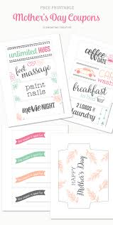 free printable mother u0027s day coupons free printable free