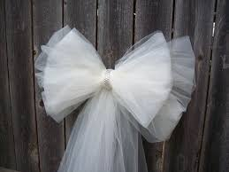 pew bows wedding pew bows with tulle other dresses dressesss