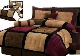 Patchwork Comforter Suede Patchwork Comforter Ebay