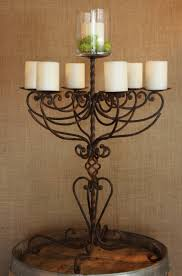 candelabra rentals wrought iron candelabra with 7 branches town country event rentals