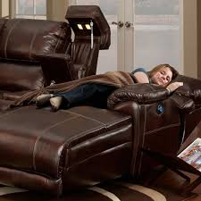 Brown Leather Sectional Sofas With Recliners Leather Sectional With Chaise Chaise Design