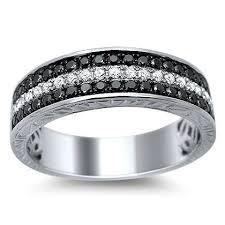 mens black diamond wedding band mens black diamond wedding ring mindyourbiz us
