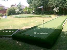 Backyard Golf Practice Net Very Cool Synthetic Backyard Golf Practice Facility By Synlawn