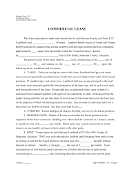 Commercial Lease Sample Triple Net Lease Form 2 Free Templates In Pdf Word Excel Download