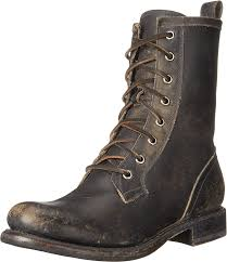 womens boots for cheap amazon com frye womens combat combat boot ankle bootie