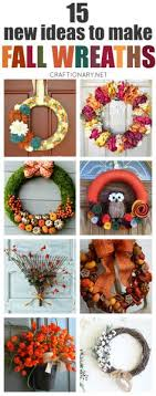 craft painting easy stencil project diy fall leaf wreath from