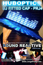 light up hat futuristic led cap dj hat caps light up