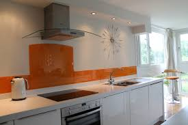 frosted glass backsplash in kitchen gorgeous home kitchen with modern white cabinets also fancy glass