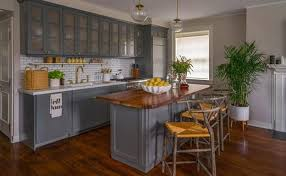 grey kitchen cabinets wood floor how to decorate with gray kitchen cabinets remodel or move